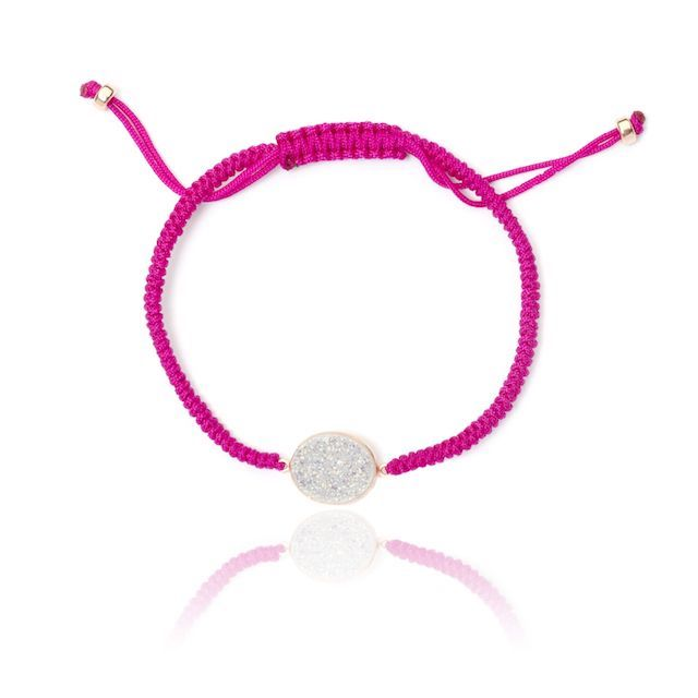 Melissa Lo Drusy friendship bracelet