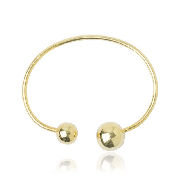 Melissa Lo Libra Bangle Gold