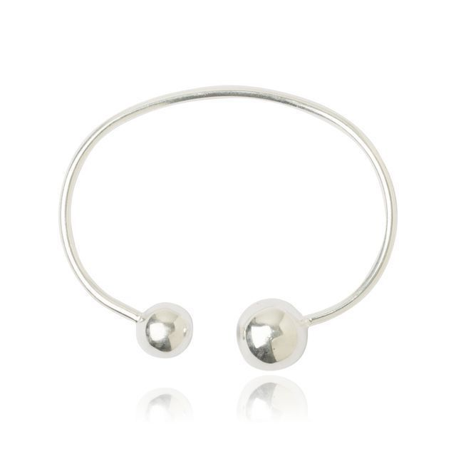 Melissa Lo Libra Bangle Silver
