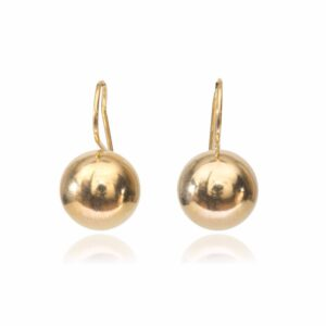 Melissa Lo Libra Earrings Gold