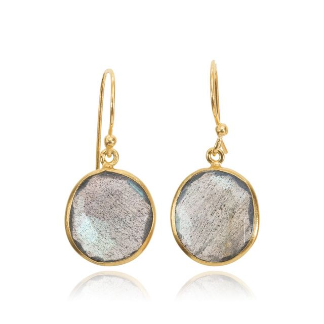 Melissa Lo Maia Earrings Labradorite