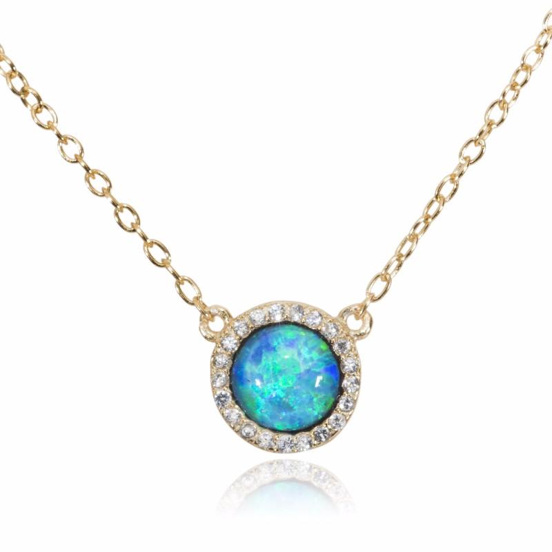 Melissa Lo Opal Necklace