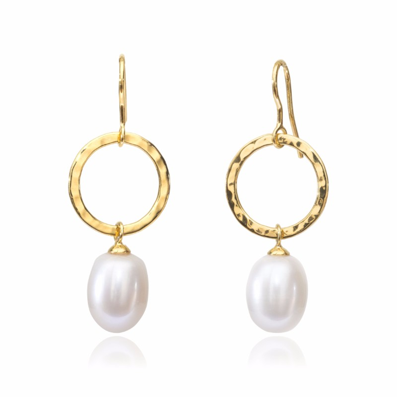 Melissa Lo Orion Pearl Earring