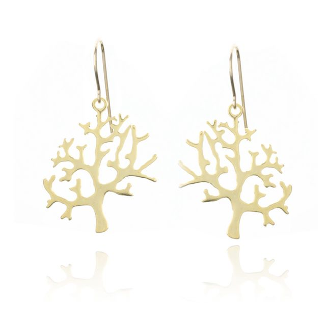 Melissa Lo Tree of Life Earrings
