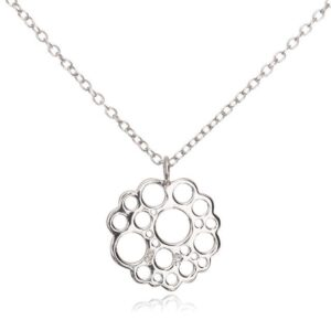 Melissa Lo Logo Necklace silver