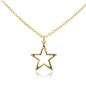 Melissa Lo All around Star charm necklace
