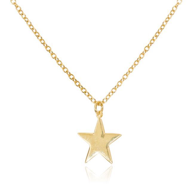 Melissa Lo Star Charm Necklace